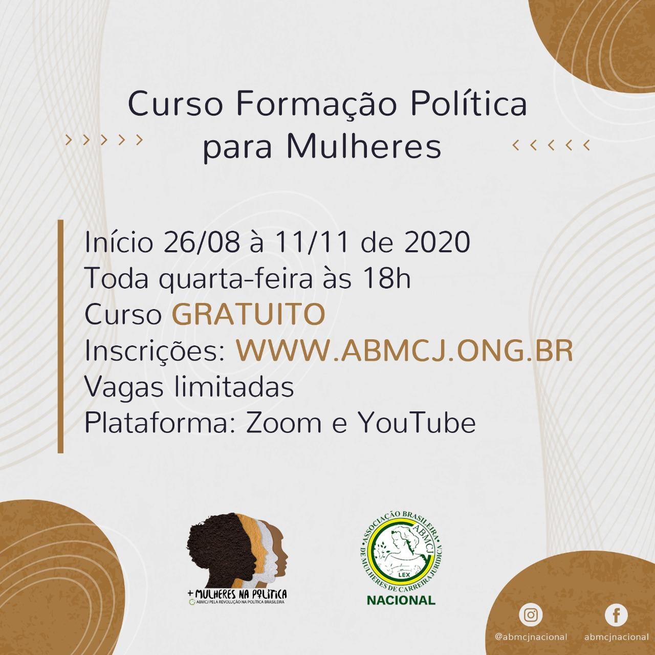 Curso de Formação Política para Mulheres